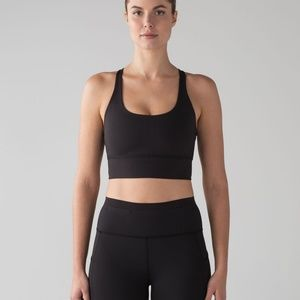lululemon athletica Intimates & Sleepwear - Lululemon Mind Over Miles Bra Black Size 2